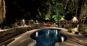 Guelph landscape lighting