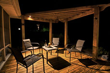 Kitchener landscape lighting